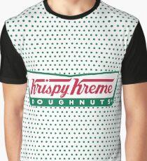 Krispy Kreme Doughnuts Graphic T-Shirt