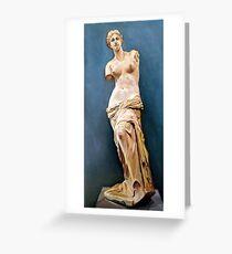 Venus de Milo Greeting Card