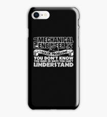 Im A Mechanical Engineer Shirt iPhone Case/Skin