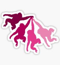 Flying monkeys Sticker