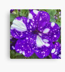 Galaxy Flower Canvas Print