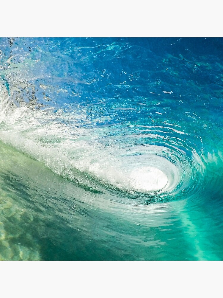 Wave Mandala - inside the barrel by TravelDream