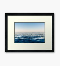 Calm Waters - Still Earth Framed Print