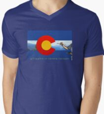 Get Creative In Colorful Colorado Flag Artist Painter Rocky Mountains Painting CO Love T-Shirt