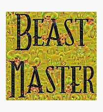 Master of Beasts Photographic Print
