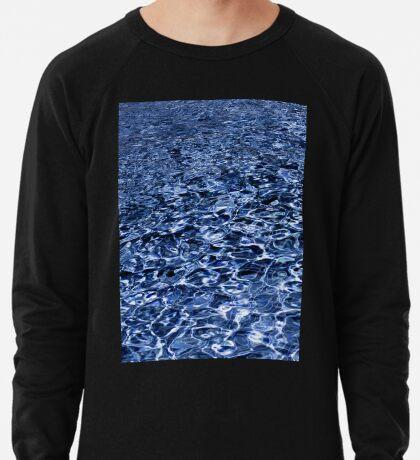 Wasser und Wellen Leichter Pullover
