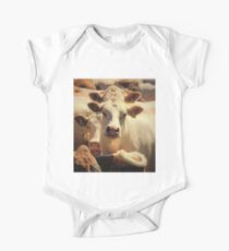 Twin Cow One Piece - Short Sleeve