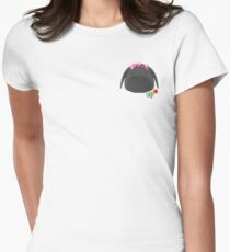 OKJA hearts Womens Fitted T-Shirt