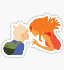 Finn & Flame/A Spark Sticker