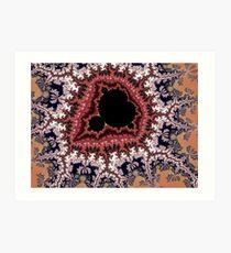 mandelbrot fractal Art Print