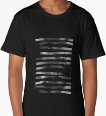 minimalist black ink lines  Long T-Shirt