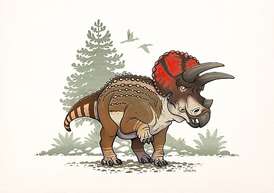 Triceratops by stieven