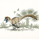 Troodon by stieven