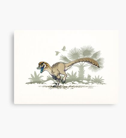 Troodon Metal Print