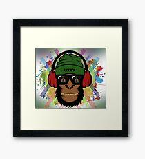 Hippy Mammal Framed Print