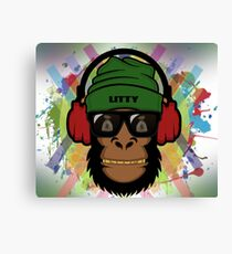 Hippy Mammal Canvas Print