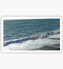 Tranquil sea Sticker