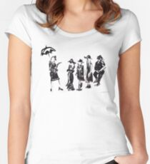 Wear this Ink Wash on Wednesdays Women's Fitted Scoop T-Shirt