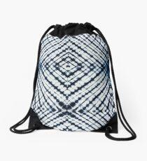 Diamonds Indigo Drawstring Bag