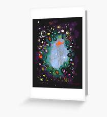 Illustration Ombré coloré Greeting Card