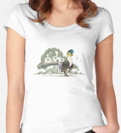 Archeopteryx Women's Fitted Scoop T-Shirt
