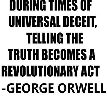 Sayings George Orwell by TheBlankVerse