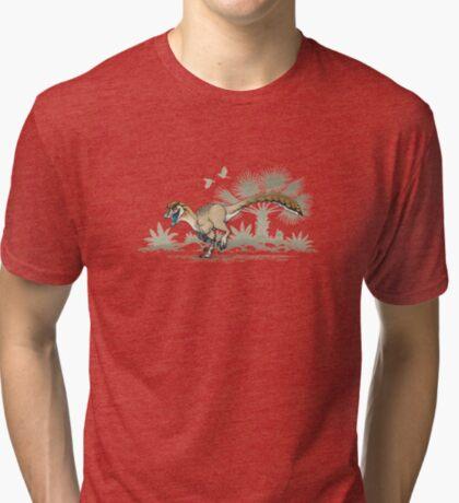 Troodon Tri-blend T-Shirt