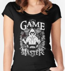Game Master - White Women's Fitted Scoop T-Shirt