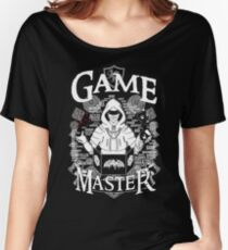 Game Master - White Women's Relaxed Fit T-Shirt