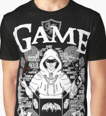 Game Master - White Graphic T-Shirt