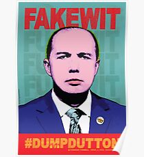 FAKEWIT - DUMP DUTTON Poster
