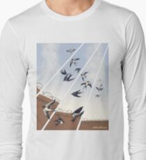 swallows in full company strength Long Sleeve T-Shirt