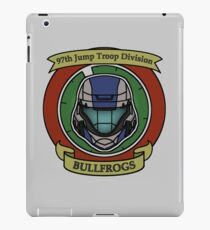 The Bullfrogs Insignia iPad Case/Skin