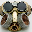Steampunk Gas Mask and Goggles by Jon Burke