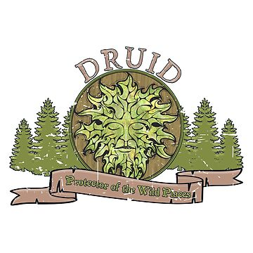 DRUID T-SHIRT by KennefRiggles