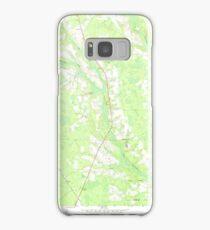 USGS TOPO Map Georgia GA Crawley 245440 1971 24000 Samsung Galaxy Case/Skin