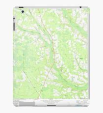 USGS TOPO Map Georgia GA Crawley 245440 1971 24000 iPad Case/Skin