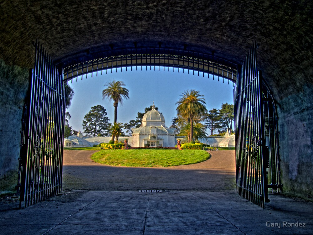 Conservatory of Flowers by Gary Rondez