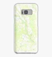 USGS TOPO Map Georgia GA Crawley 245441 1971 24000 Samsung Galaxy Case/Skin