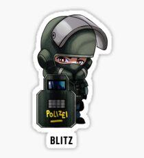 R6 Blitz Chibi Sticker