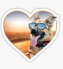 Pegatina Doggo Stickers: Cool Shepherd