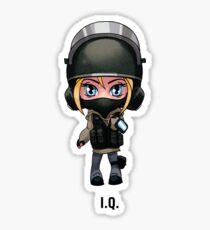 R6 IQ Chibi Sticker