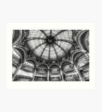 Galeries Lafayette, Paris 3 Kunstdruck