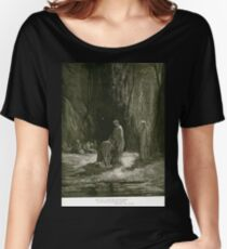Gustave Dore or Doré  Dante Divine Comedy Purgatory 025 Women's Relaxed Fit T-Shirt