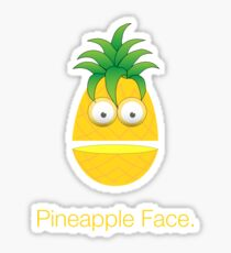 Pineapple Face Sticker
