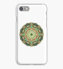 Round ethnic pattern iPhone Case/Skin