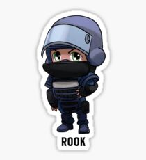 R6 Rook Chibi Sticker