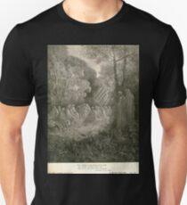 Gustave Dore or Doré  Dante Divine Comedy Purgatory 026 Unisex T-Shirt