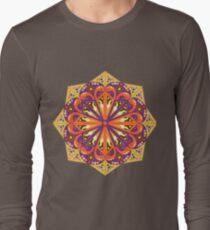 Round ethnic pattern Long Sleeve T-Shirt