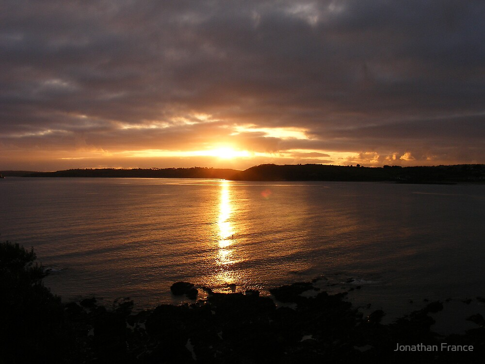 Falmouth sunset by Jonathan France